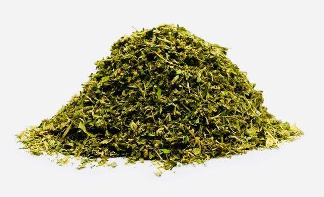 Rozdrobniony susz konopny CBD 14,5% miał na jointy za 1g przy 10kg