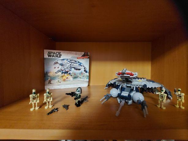 Аналог лего зыездные воины , корабль дронов