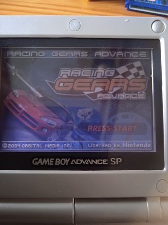 Racing Gears Advance GBA Gameboy