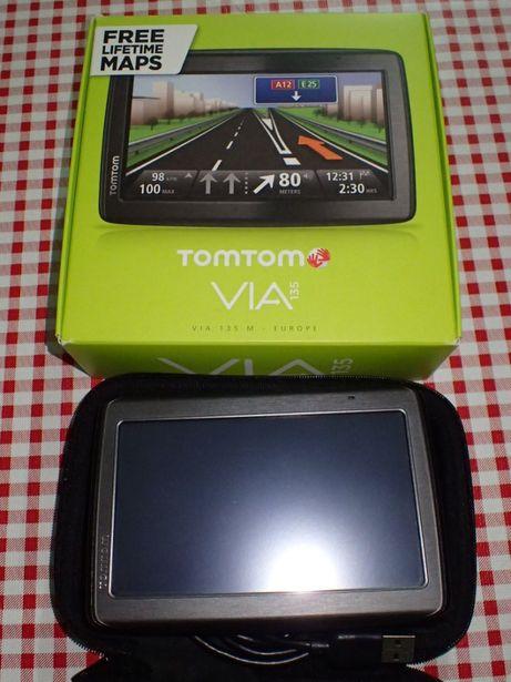 GPS Tom Tom Via 135 Atualização Vitalícia negociável