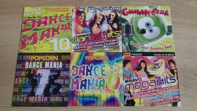 Płyty CD z piosenkami