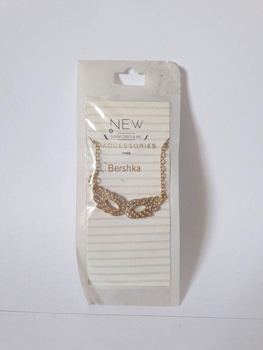 Bershka łańcuszek skrzydełka naszyjnik Nowy Sielc - image 1