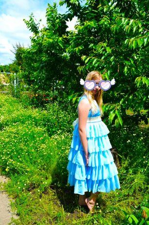 Нарядное или выпускное платье для девочки среднего и бол телосложения,