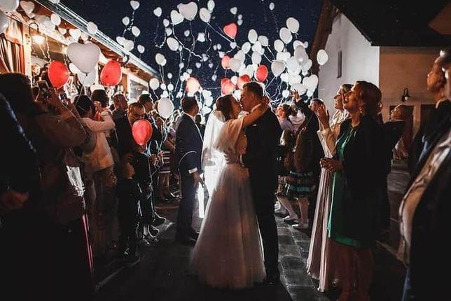 Balony Ledowe Prezent balonowy Fotobudka Taniec w chmurach Dekoracja