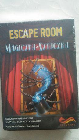 Gra Escape Room, Magiczna Sztuczka.Nowa.Folia.Prezent.