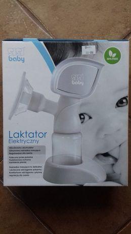 laktator elektryczny, SBC-A20 SISI BABY CARE, nowa butelka w zestawie
