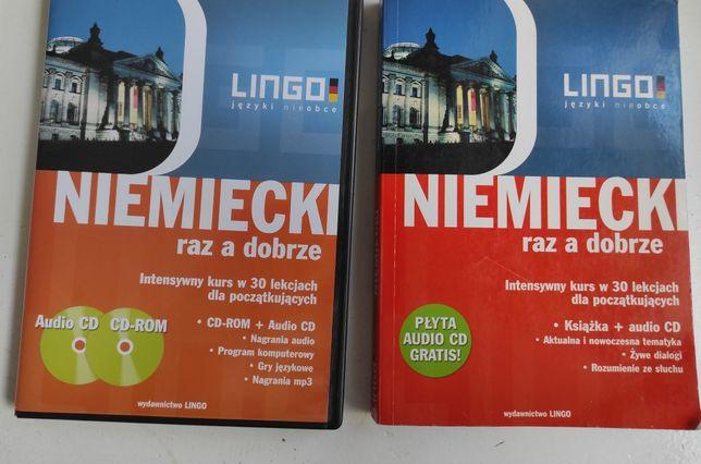 Kurs języka niemieckiego Lingo z 2 płytami, samouczek