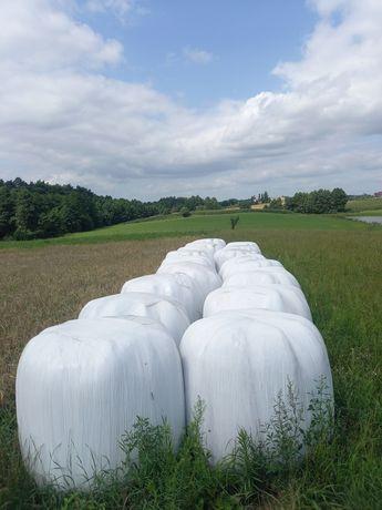 Sprzedam sianokiszonka 27kulek trawa siewna plus koniczyna