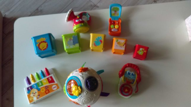 Zabawki edukacyjne dla maluszka
