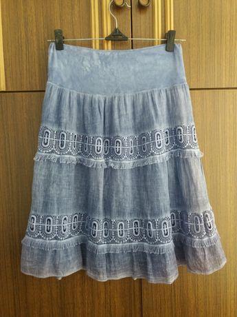 Стильная хлопковая юбка. 48 50 р