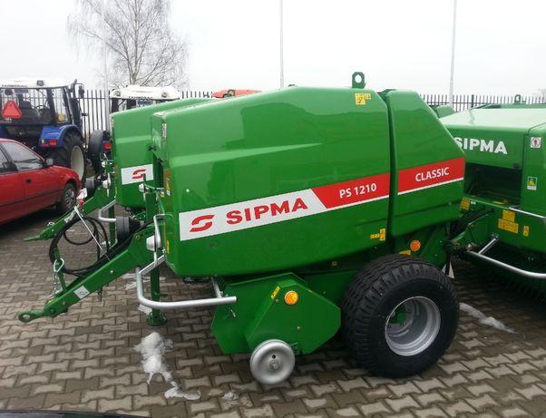 Prasa Zwijająca Belująca Rolująca SIPMA PS 1210 CLASSIC PS 1211 FARMA