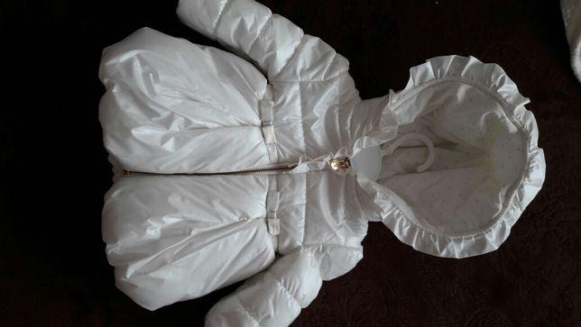 Курточка для красуні,на 6-9 міс.Фірма TAHARI BABY.