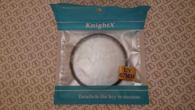 Захисний світлофільтр KnightX UV 67mm