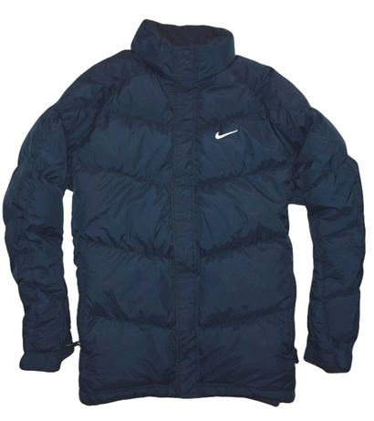 Nike XL ciepła puchowa pikowana kurtka puffer