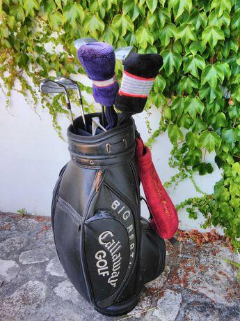 Golfe titleist saco e madeiras callaway