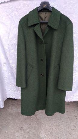 Płaszcz męski - ciemna zieleń