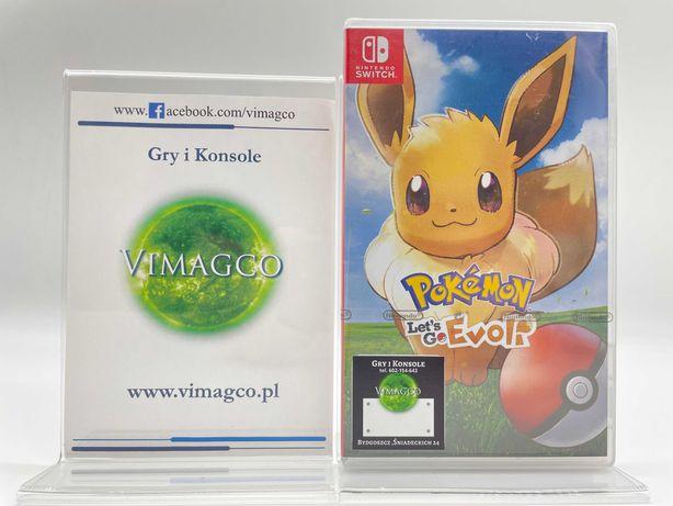 Pokemon Eevee Nintendo Switch Sklep Vimagco Bydgoszcz PROMOCJA