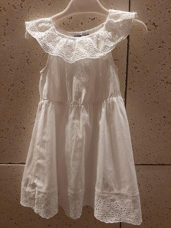 Sukienka 98 biała