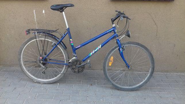 """Rower Romet (wysyłka w cenie) Samanta górski damka 26"""" granatowy 1994"""