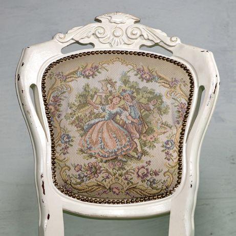Антикварная мебель, комплект стульев, обеденный стол. Барокко 18-19 в