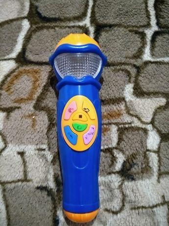 Интерактивная игрушка микрофон