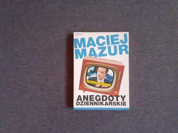 Anegdoty dziennikarskie - Maciej Mazur