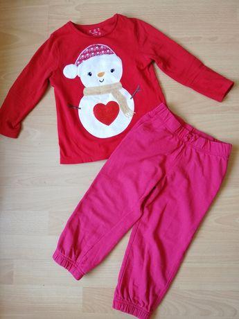 Dresy bluza spodnie roz 98