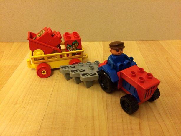 Lego duplo farmer plus taczka - Unikat !!!