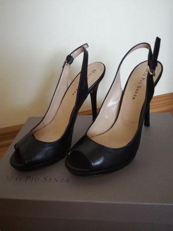 Czarne szpileczki, nowe, buty na obcasie rozm. 37