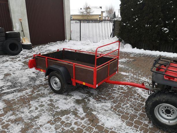 Przyczepka do Quada, Traktorka, Kosiarki Solidna na resorach Quad 4x4.