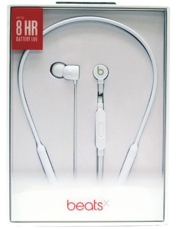 Auriculares Bluetooth BEATS X (Microfone - Noise Isolation - Branco)