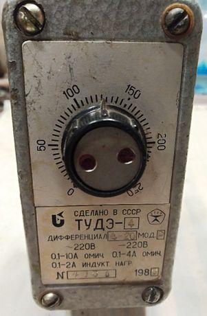 терморегулятор ТУДЭ-4