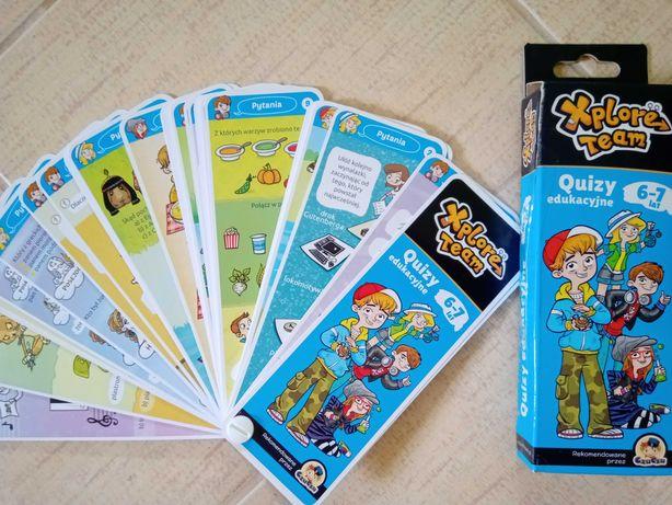 Quizy edukacyjne 6-7 lat