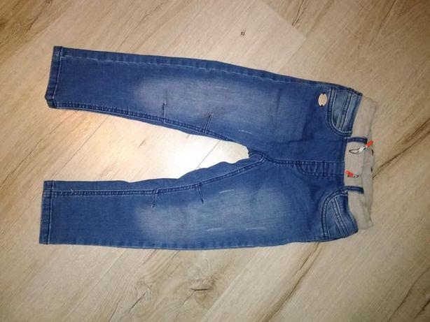 Nowe jeansy cool club r.104