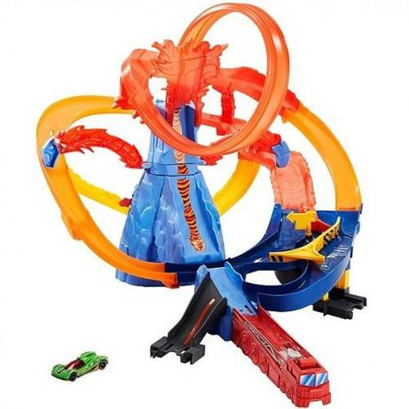 Автомобільний трек Mattel Hot Wheels Вулкан