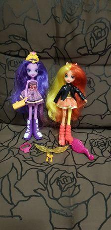Zestaw lalek Sunset Shimmer Twilight Sparkle Equestia Girls My Little