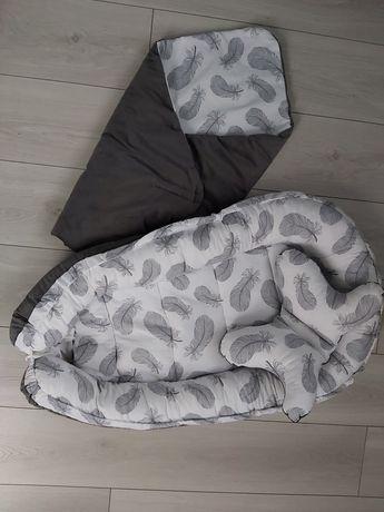 Kokon, rożek, poduszka