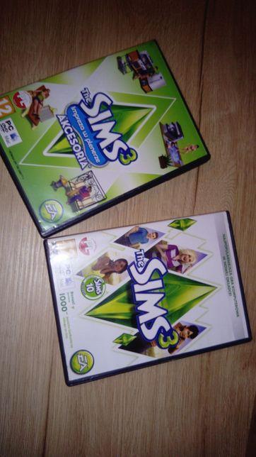 Simsy 3 oraz dodatek akcesoria