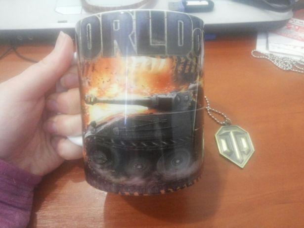 Чашка кружка для любителей Танк Work of Tanks