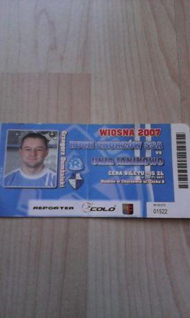 Ruch Chorzów-Unia Janikowo 26.05.2007