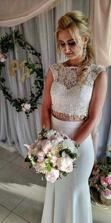 Suknia ślubna Oksana Mukha Bellamy rybka syrenka