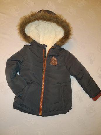 Куртка зимова, парка для хлопчика, 86 розмір, курточка на 1-1,5 рочки