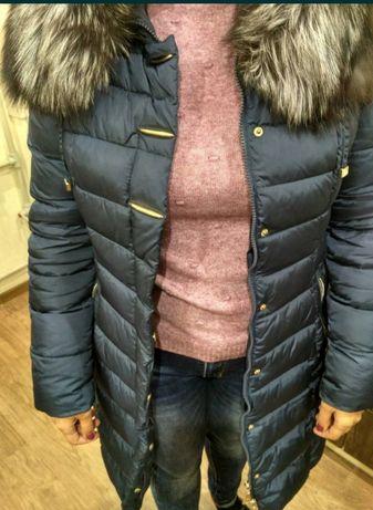 Зимняя куртка с чернобуркой