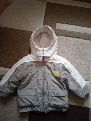 Зимова курточка + комбінезон 80+