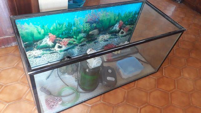 Aquario grande 120x50x55
