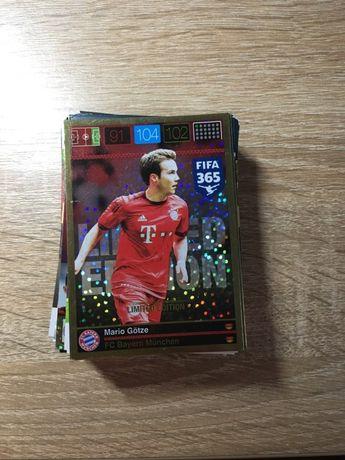 Karty piłkarskie FIFA 365 -66 szt.