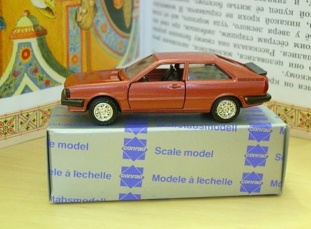 Моделька Audi Quattro, Audi Coupe Gt.