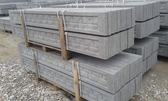 Podmurówka betonowa pod panele ogrodzeniowe