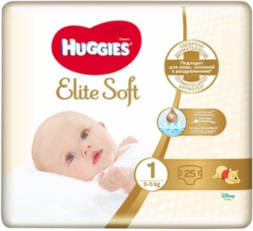 Підгузники, памперси, подгузники Huggies elite soft 1,хаггис