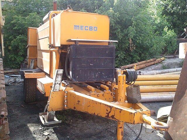 Бетононасос MECBO CAR 4.65